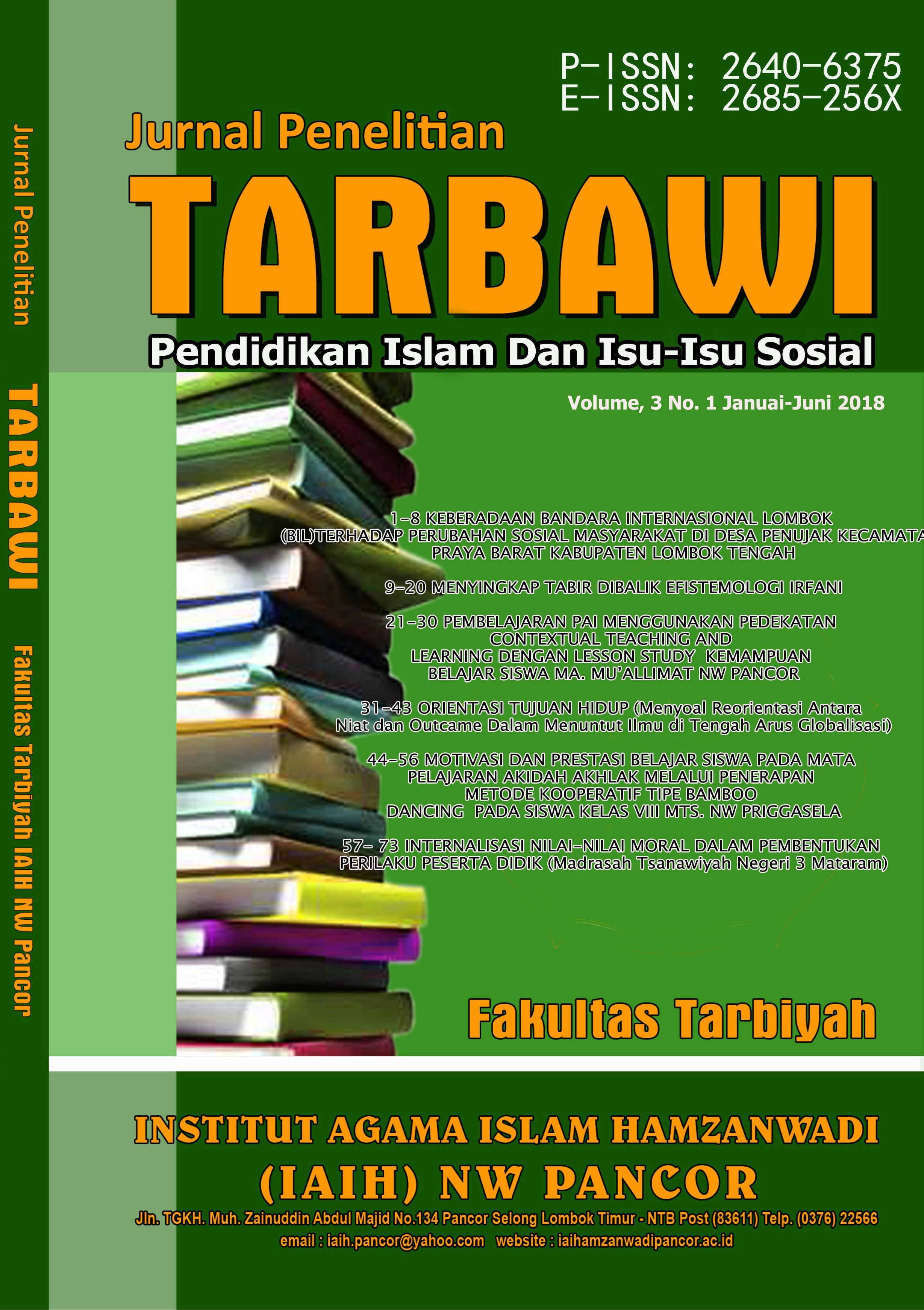 View Vol. 3 No. 1 (2018): (Juni) Penelitian Pendidikan dan Isu-Isu Sosial