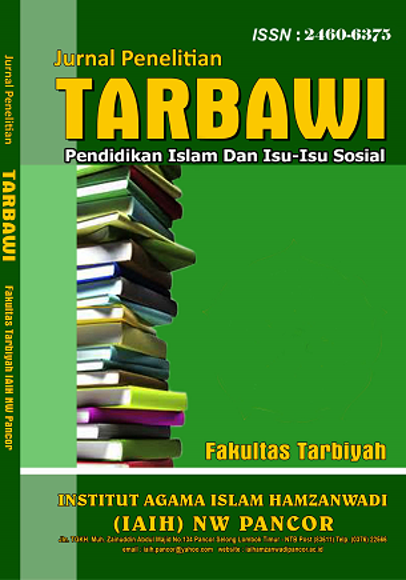 Jurnal Penelitian Tarbawi: Pendidikan Islam Dan Isu-Isu Sosial